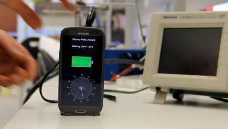 Charger la batterie de votre téléphone en quelques secondes